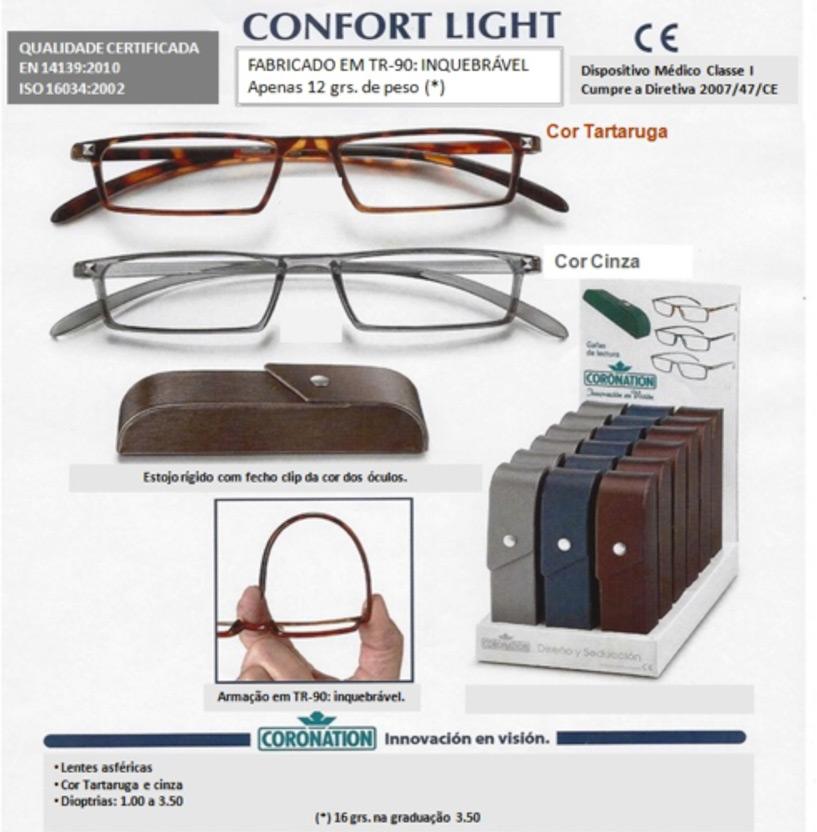 8e0517f97 Óculos de Leitura. Marca: Coronation Modelo: Colorissimo
