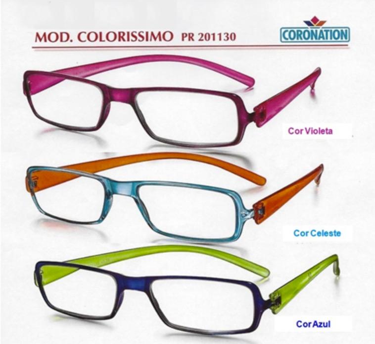 b5d13e1f3 Óculos de Leitura. Marca: Coronation Modelo: London