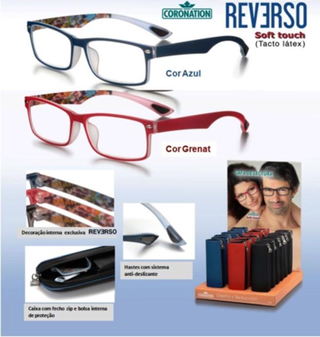 c7d6d5616 Óculos de Leitura. Marca: Coronation Modelo: Retro
